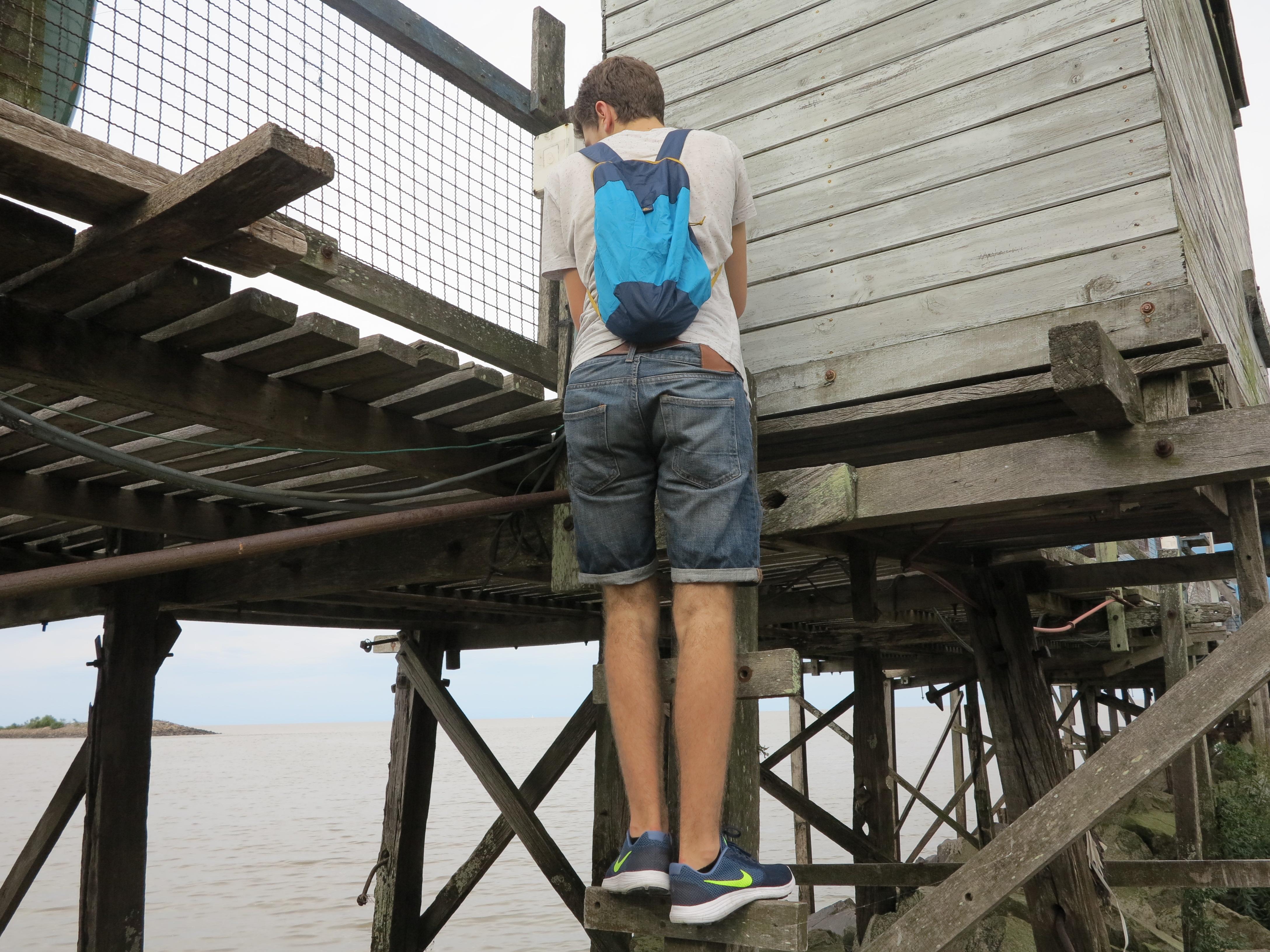 02.12.16 Auf den Steg klettern