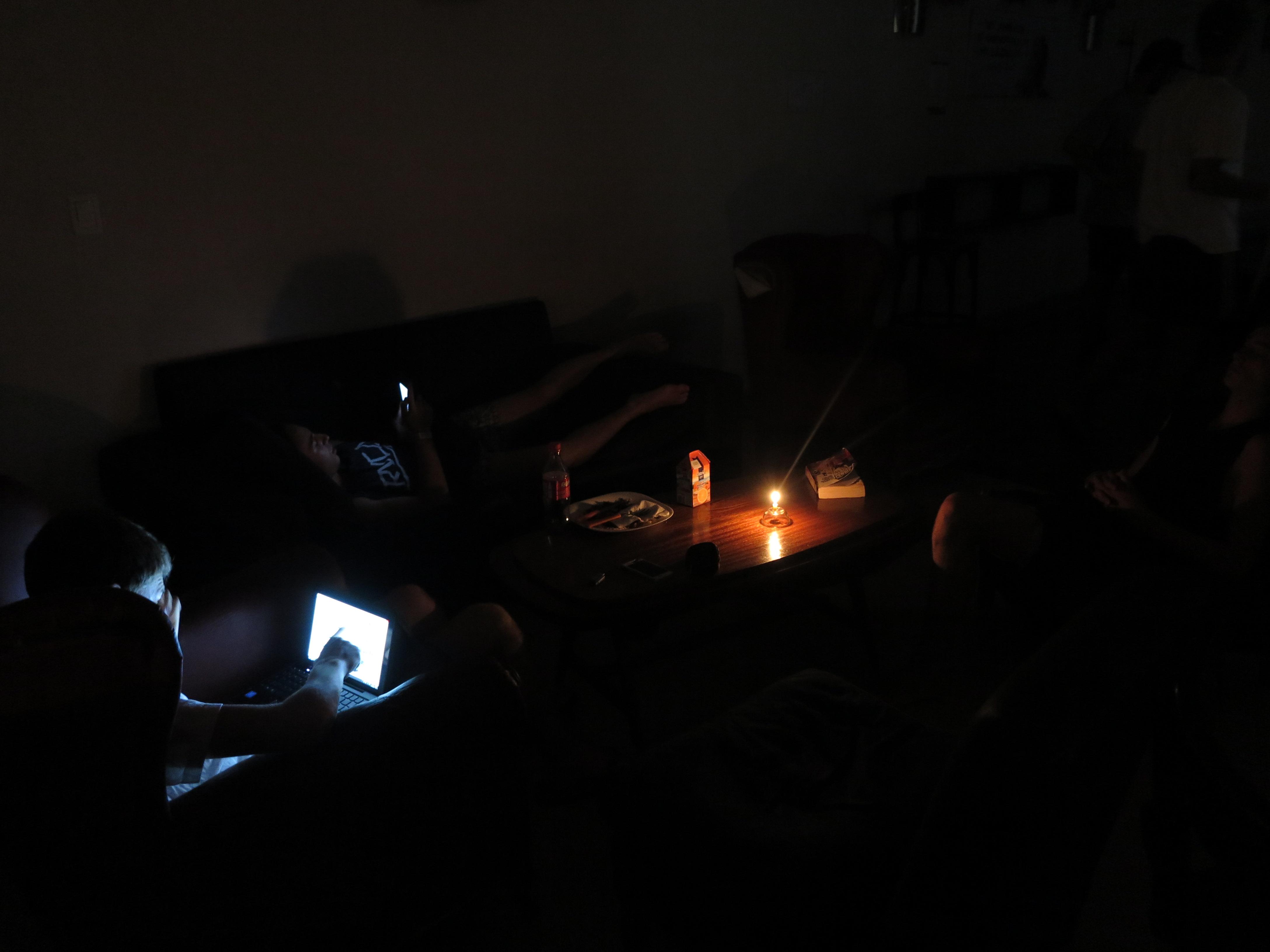 05.12.16 Stromausfall im Hostel
