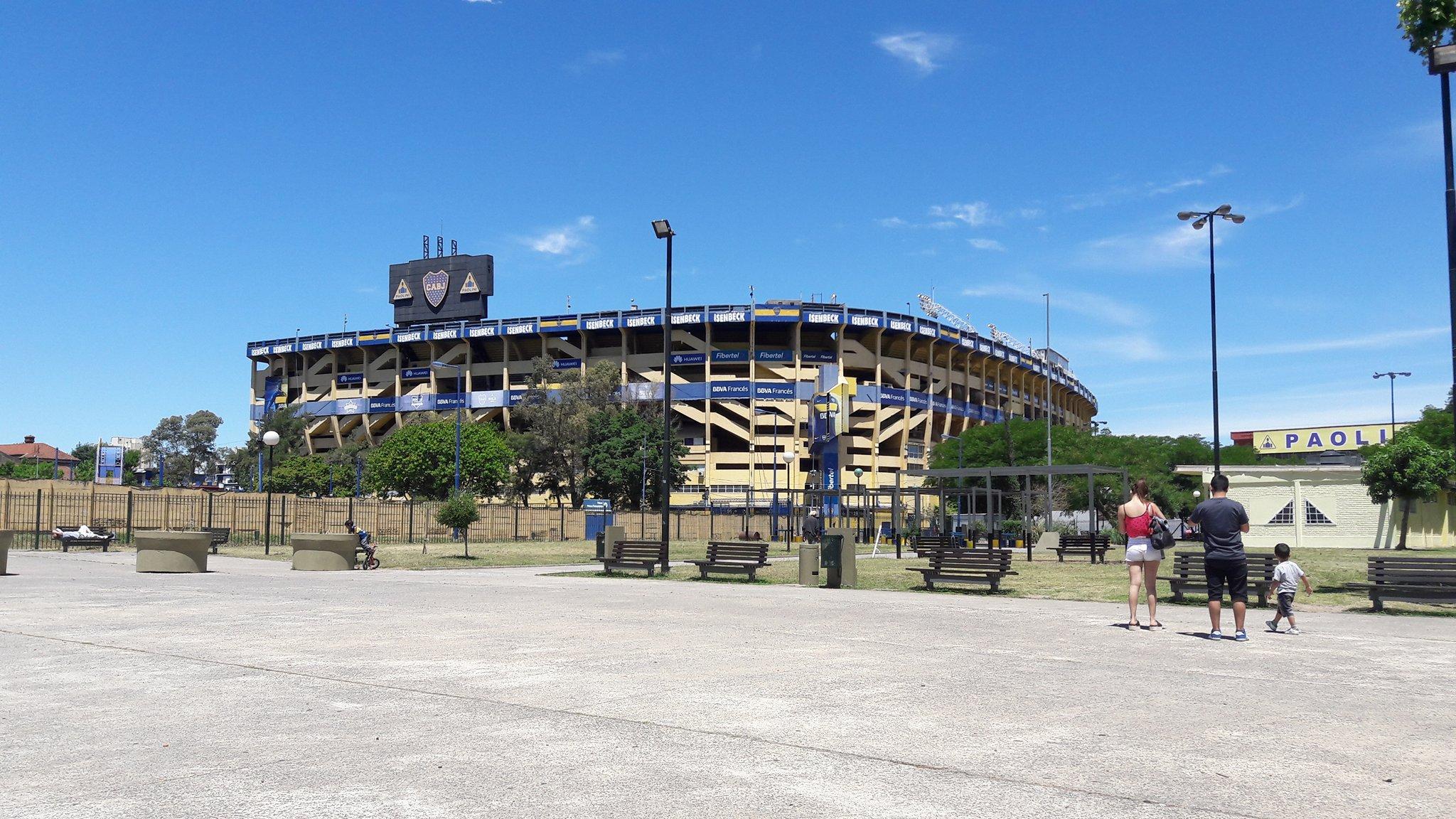 09.12.16 La Boca Stadium