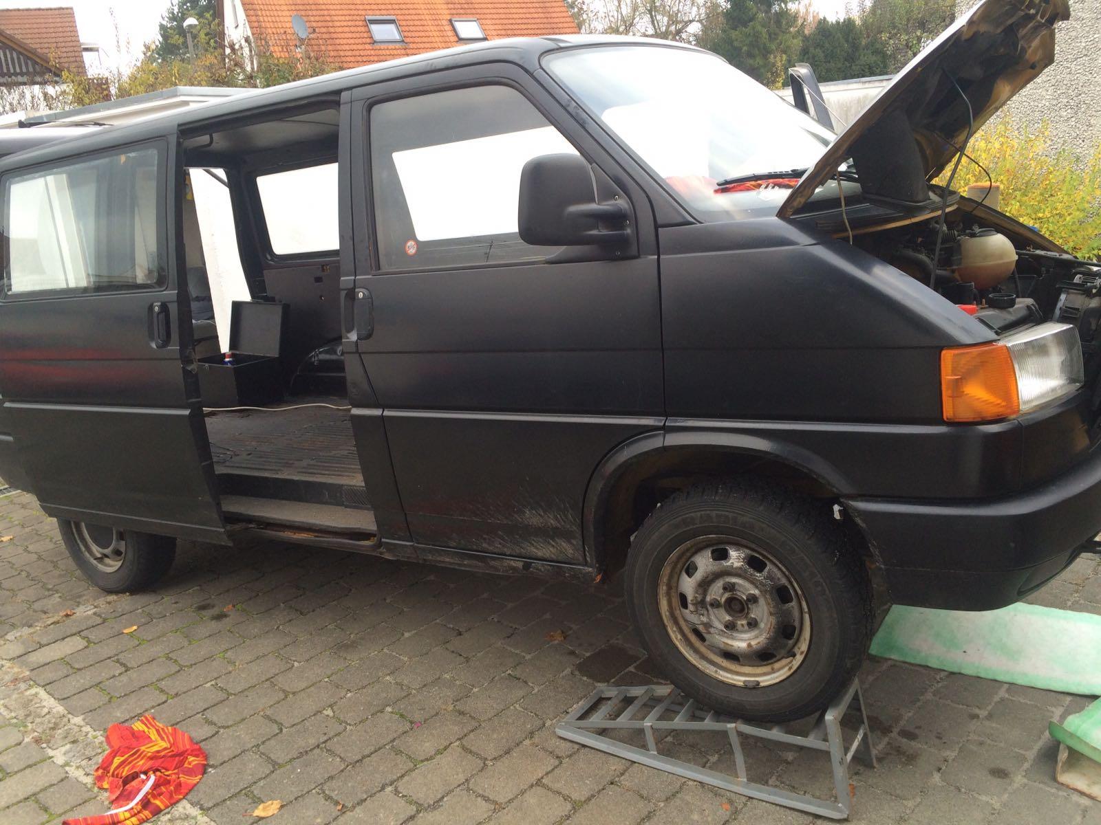 12.11.16 Erste Reparaturen und Ölwechsel