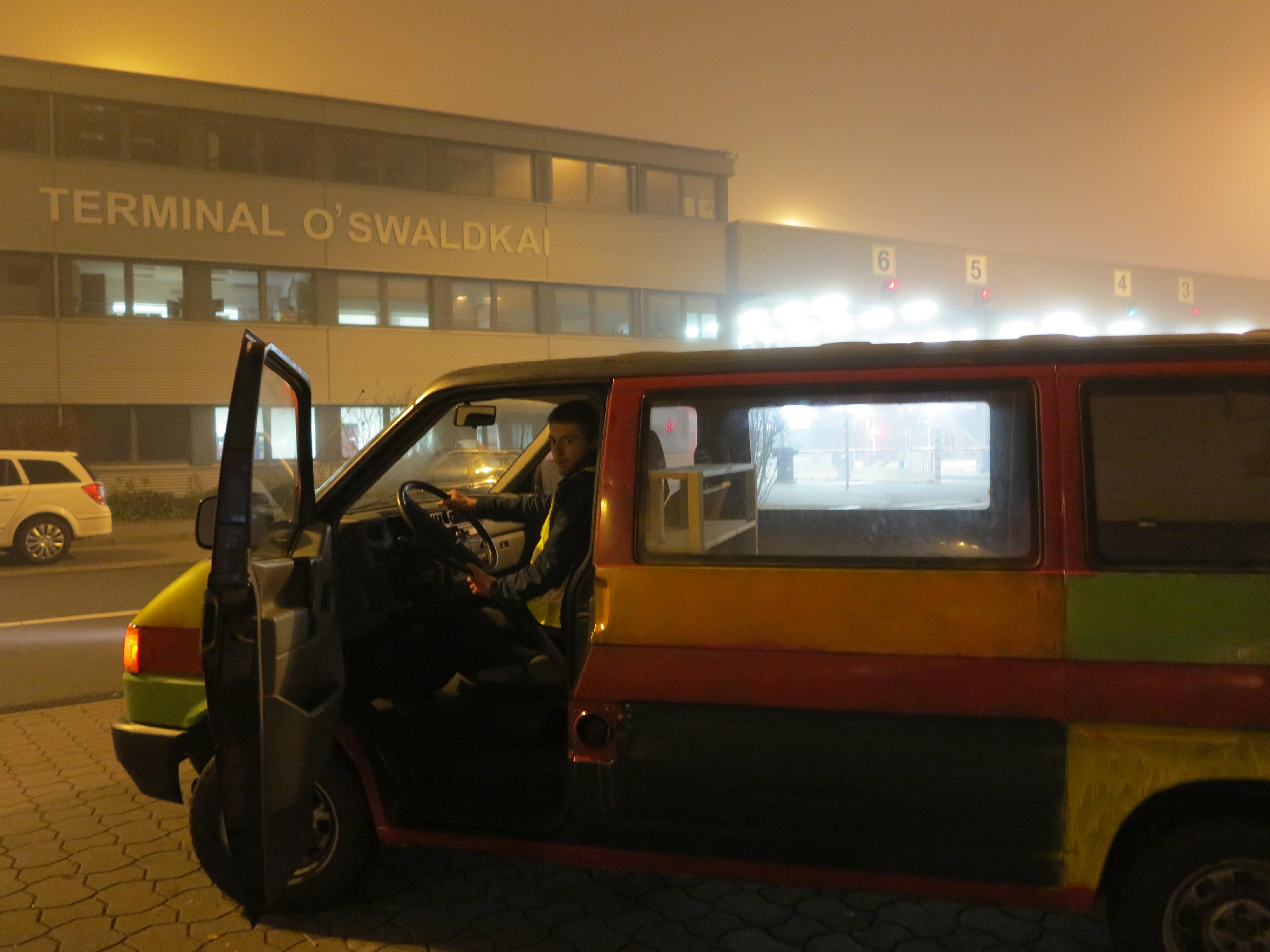 25.11.16 In Hamburg vorm Terminal